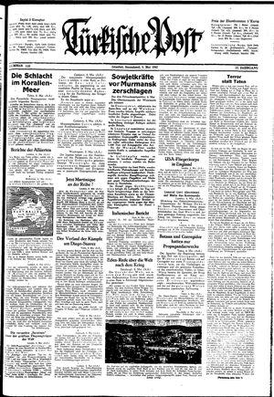 Türkische Post vom 09.05.1942