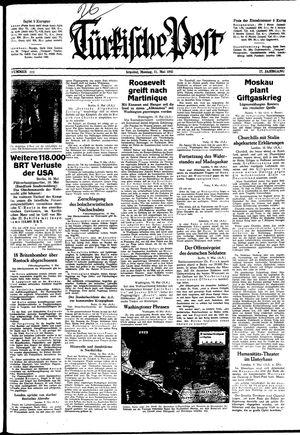 Türkische Post vom 11.05.1942