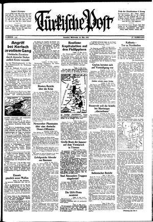 Türkische Post on May 13, 1942