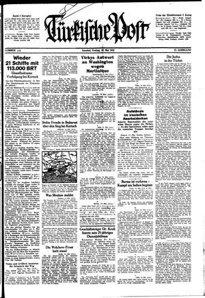 Türkische Post vom 15.05.1942