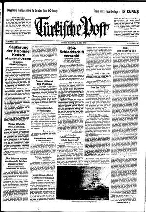 Türkische Post vom 23.05.1942