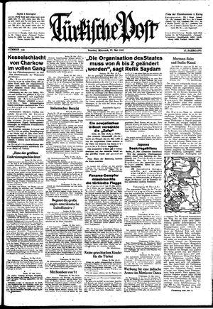 Türkische Post vom 27.05.1942