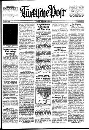 Türkische Post on May 28, 1942