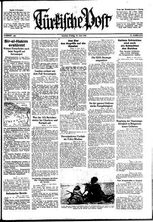 Türkische Post vom 12.06.1942
