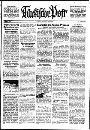 Türkische Post vom 18.06.1942
