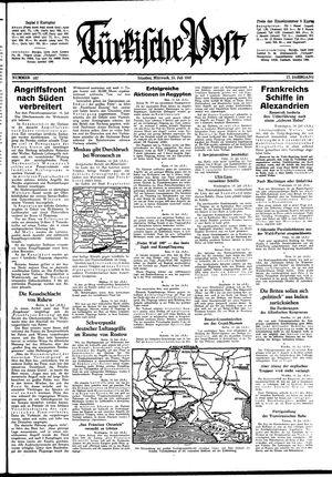 Türkische Post vom 15.07.1942