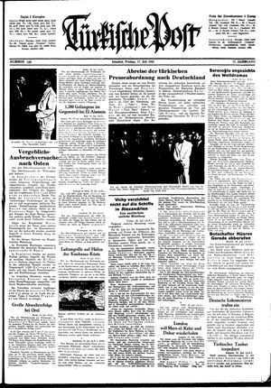 Türkische Post vom 17.07.1942
