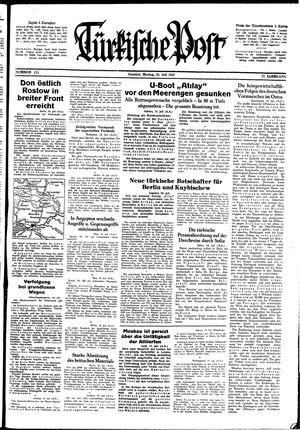 Türkische Post on Jul 20, 1942