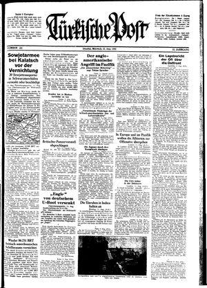 Türkische Post vom 12.08.1942