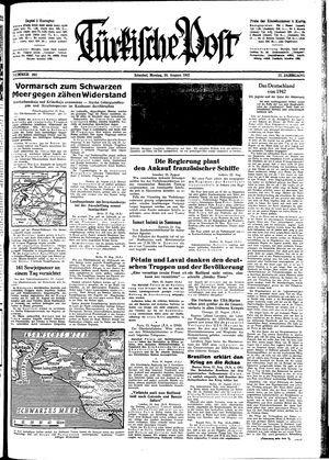 Türkische Post on Aug 24, 1942