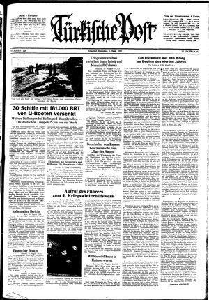 Türkische Post on Sep 1, 1942