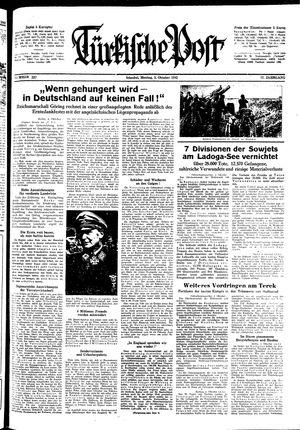 Türkische Post vom 05.10.1942