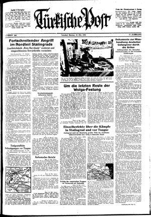 Türkische Post vom 19.10.1942