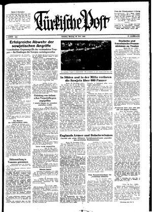 Türkische Post vom 30.11.1942