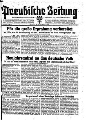 Preußische Zeitung vom 03.01.1944