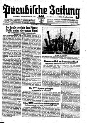 Preußische Zeitung vom 09.01.1944