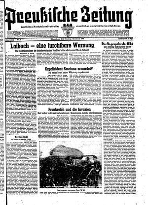 Preußische Zeitung vom 10.01.1944