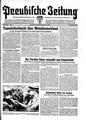Preußische Zeitung vom 12.01.1944