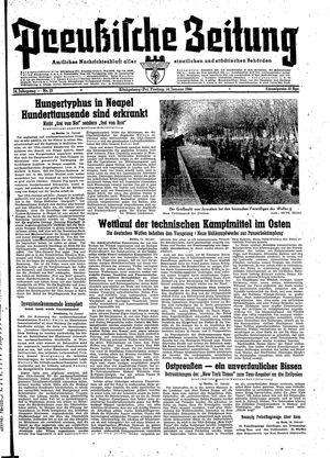 Preußische Zeitung vom 14.01.1944