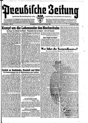 Preußische Zeitung vom 16.01.1944