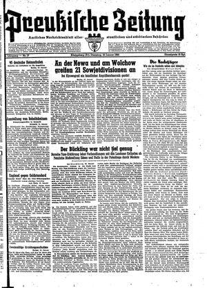 Preußische Zeitung vom 18.01.1944
