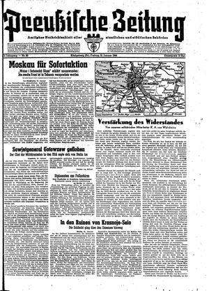Preußische Zeitung vom 21.01.1944