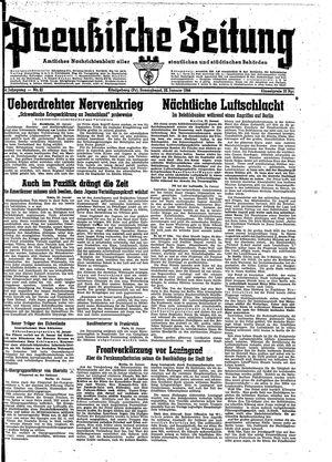Preußische Zeitung vom 22.01.1944