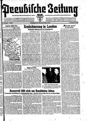 Preußische Zeitung vom 24.01.1944