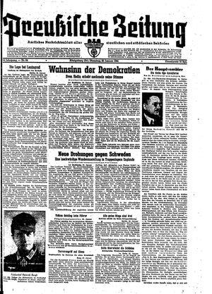 Preußische Zeitung on Jan 25, 1944