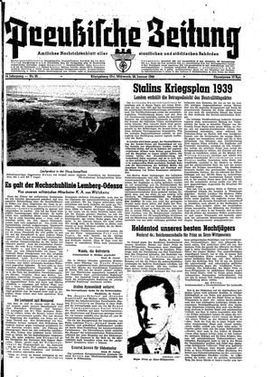 Preußische Zeitung vom 26.01.1944