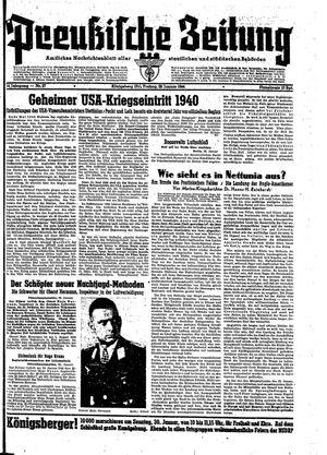 Preußische Zeitung vom 28.01.1944
