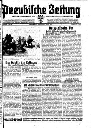 Preußische Zeitung vom 29.01.1944