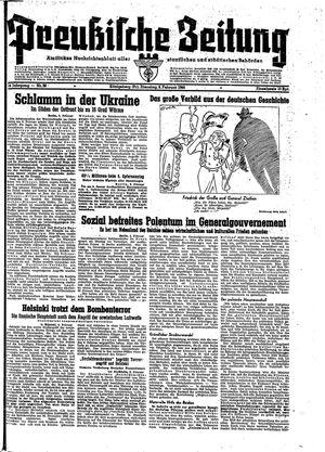 Preußische Zeitung vom 08.02.1944