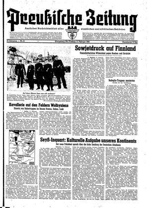 Preußische Zeitung vom 11.02.1944