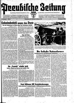 Preußische Zeitung vom 14.02.1944