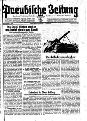 Preußische Zeitung vom 16.02.1944
