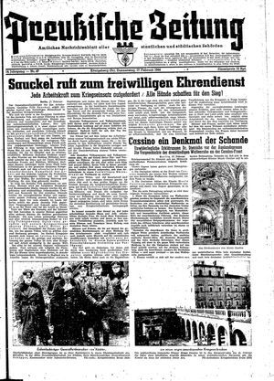 Preußische Zeitung vom 17.02.1944