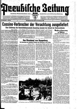 Preußische Zeitung vom 18.02.1944
