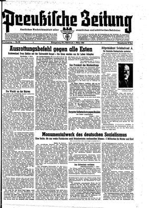 Preußische Zeitung vom 01.03.1944