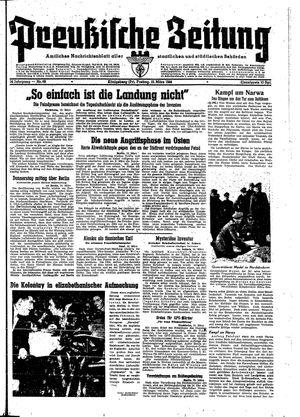Preußische Zeitung vom 10.03.1944
