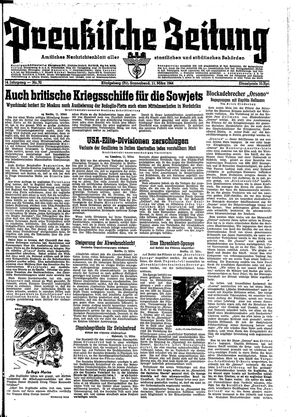 Preußische Zeitung vom 11.03.1944