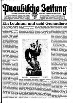 Preußische Zeitung vom 12.03.1944