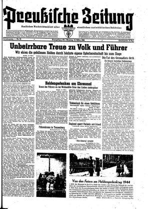 Preußische Zeitung vom 13.03.1944