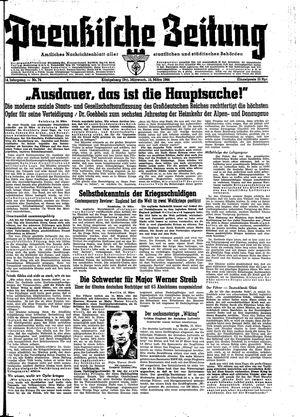 Preußische Zeitung vom 15.03.1944