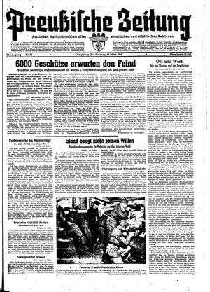 Preußische Zeitung vom 19.03.1944
