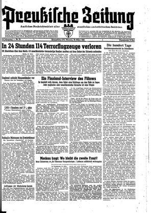 Preußische Zeitung vom 20.03.1944
