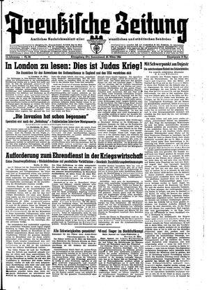 Preußische Zeitung vom 25.03.1944