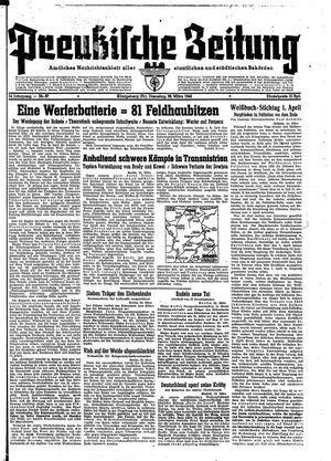 Preußische Zeitung vom 28.03.1944