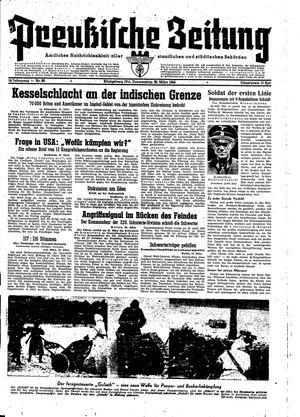 Preußische Zeitung vom 30.03.1944