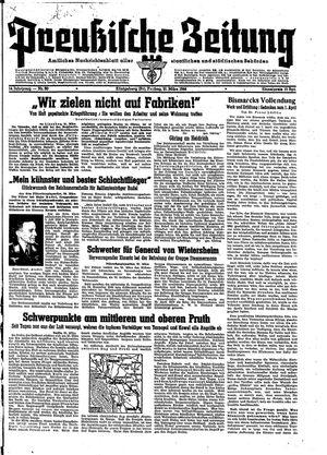 Preußische Zeitung vom 31.03.1944